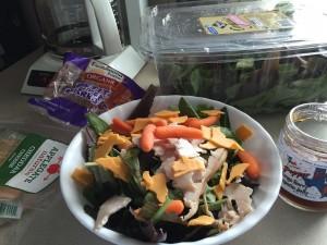 weird salad