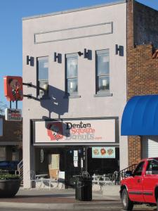 donut shop building