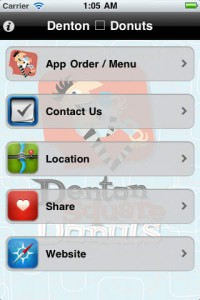 donut shop app