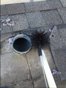 Replace Dryer Vent On Roof No Lint In Dryer Not Drying