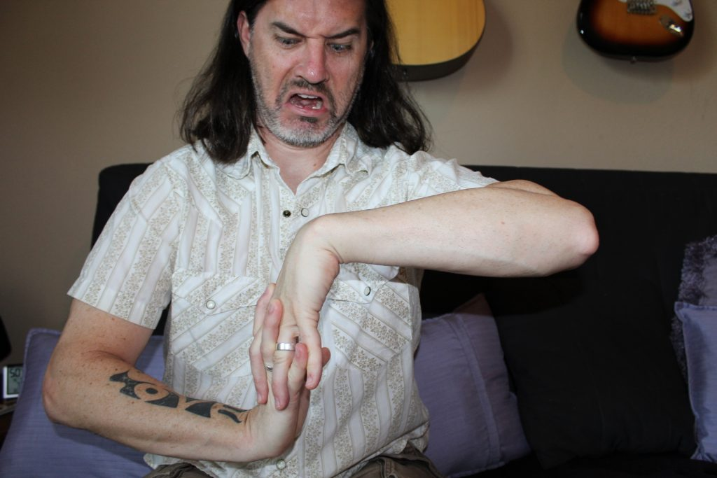 Guitar Hand Stretches #5