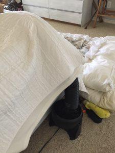 Bed Cooling DIY