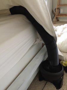 DIY Bed Cooling System