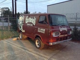 gas monkey garage van
