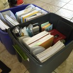 Homeschool - packing